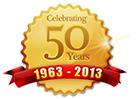 Celebrating 50 Years - 1963 - 2013
